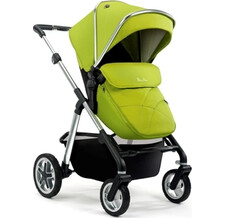 Коляска Silver Cross Pioneer 2 в 1 Carrycot/Chassis Silver