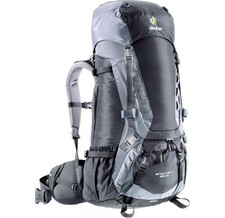 Рюкзак Deuter 2016-17 Aircontact 45 + 10 granite-black (б/р)