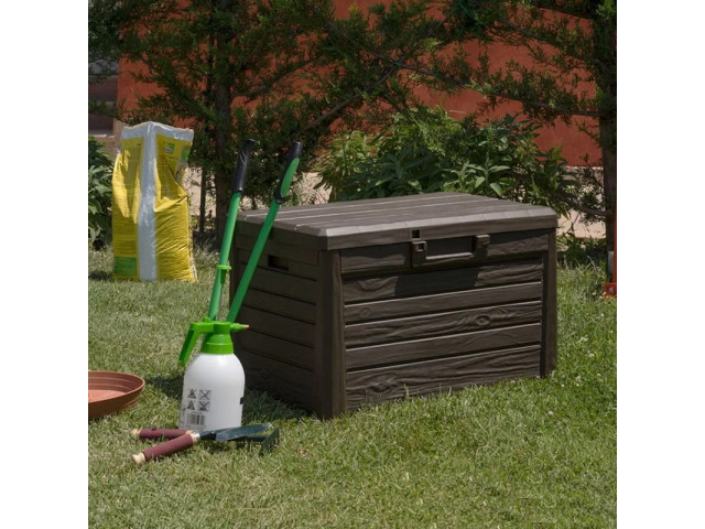 Сундук Toomax WOOD LOOK STORAGE BOX FLORIDA COMPACT 120 л
