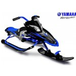 Снегокат YAMAHA Apex SNOW BIKE Titanium black/blue