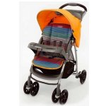 Коляска прогулочная Graco Mirage + (со столешницей) Parent tray and boot Jaffa stripe