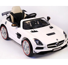 Электромобиль RiverToys Mercedes-Benz SLS VIP белый
