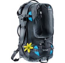 Рюкзак Deuter 2015 Travel Traveller 60 + 10 SL black-turquoise (б/р:UNI)