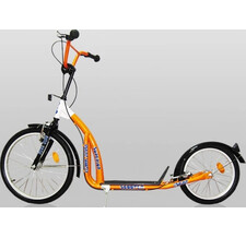 "Самокат Moove and Fun Big Wheels 20""/16"" SM-BS09 оранжевый"