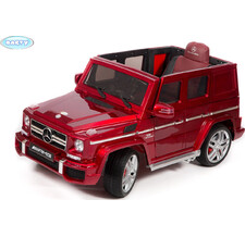 Электромобиль BARTY Mercedes-Benz G63 AMG (12V/10ah) Tuning бордовый-глянец