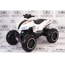 Квадроцикл RiverToys T777TT белый