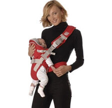 Red Castle Baby-carrier Aertex